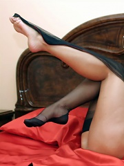 Lana Gets So Turned On By High Heels And Sexy Lingerie^leggy Lana Nylon Pics Picture Free Gallery