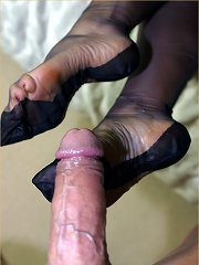 Sexy Leggy Lana Rubs Her Pussy And Then Sucks On A Stiff Cock^leggy Lana Nylon Pics Picture Free Gallery